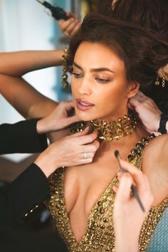 Here's How Irina Shayk Got Ready for the 2018 Met Gala