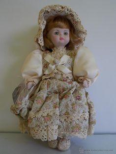 muñeca de coleccion ceramica Italiana de la marca IL Mundo di M.I.k. - Foto 1