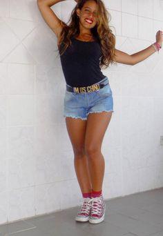 #shorts #denim #kissmylook