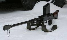 Lahti L-39 anti-tank gun (Finland) Now this is a gun! Fires a 20mm round!