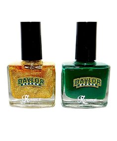 #Baylor nail polish set!