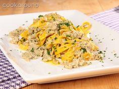 Tagliatelle carciofi e polpa di granchio: Ricette di Cookaround | Cookaround