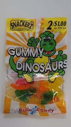 Gummy Dinosaurs 2/$1 (12 Count)