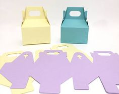 DYI Favor Boxes   Do it yourself   Favor Boxes   Gable Boxes   Colored Favor Boxes   Birthday Favors