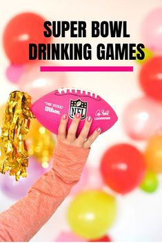 Super Bowl Drinking Game, Drinking Games, Creative Valentines Day Ideas, Alcohol Games, Graduation Cupcake Toppers, Diy Décoration, Backdrops For Parties, Party Printables, How To Memorize Things