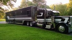 Image result for semi truck motorhome