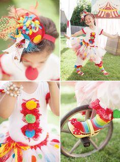 Circus clown costume... so cute!