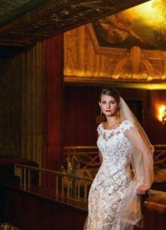 Cinti Netherland Hilton  Brideface Steven Yerrick dress