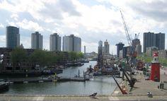 Rotterdam, uitzicht vanaf het Maritiem Museum (foto Astrid den Hartog)