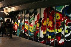 Cokney - Palais de Tokyo - Lasco Project #3 - Hugo Vitriani interview - graffiti Paris street art - Photo by Demian Smith