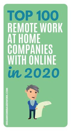 Want to get started on your work from home journey? We've discovered the Top 100 remote work at home companies with online jobs in Work From Home Companies, Online Jobs From Home, Work From Home Tips, Earn Money Online Fast, Earn Money From Home, Kelly Services, Online Job Opportunities, Home Based Work, Customer Service Jobs