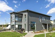 Honka Harmonia Log Houses, Home Fashion, Finland, Building A House, House Styles, Outdoor Decor, Home Decor, Homes, Timber Homes