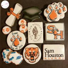 Sam Houston State university cookies  www.facebook.com/cookies.by.shannon  Cookies by Shannon