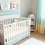 If i still lived on the beach and could have have more kids, this could be awesome Cool and Calm Nursery