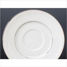Save $5.55 on Noritake Whitecliff Platinum Saucer; only $7.45