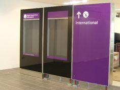 Structurally Bonded Glazed Monoliths, UV Glass Bonding - Heathrow Terminal 1  #glassbonding