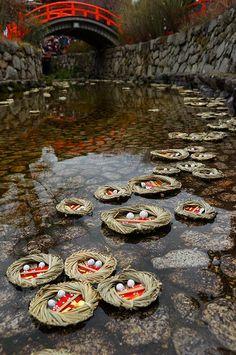Nagashi hiina, Kyoto, Japan