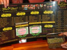 amsterdam coffee shops menu   Coffeeshop Experience   Fun Guide Through Amsterdam.