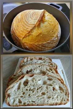 Hungarian Recipes, Bread Recipes, Bakery, Goodies, Food And Drink, Yummy Food, Sweets, Breads, Loaf Recipes