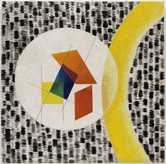 "Throughout his career, #MoholyNagy created works of an explicitly historical or autobiographical nature. ""Leuk 4,"" completed the year before the Moholy's death from leukemia, poignantly evokes the artist's illness through numerous images of cancer cells. Reference can also be made to Moholy's former Bauhaus colleague Kandinsky—also concerned with rebirth and transformation—whose paintings team amoebic creatures and biological images culled from scientific literature.  László Moholy-Nagy…"
