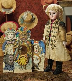 """The Memory of All That - Marquis Antique Doll Auction: 194 French Bisque Bebe """"Dep"""" with Fine Original Marquis Costume"""