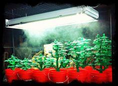 Art by the Ounce. LEGO marijuana art.