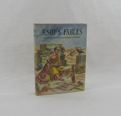 Aesop's Fables Prince Charming Color Book by VintageEtcEtc on Etsy