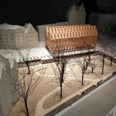 nextarch by @rebeccavanysacker #next_top_architects De wonderjaren in maquettes