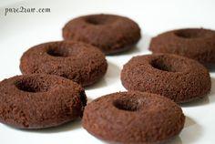 chocolate crunch bar cake donuts