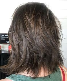 60 Best Variations of a Medium Shag Haircut for Your Distinctive Style Cute Soft Feathered Shag Medium Shag Haircuts, Shag Hairstyles, Trending Hairstyles, Layered Haircuts, Hairstyles With Bangs, Straight Hairstyles, Haircut Medium, Formal Hairstyles, Boy Haircuts