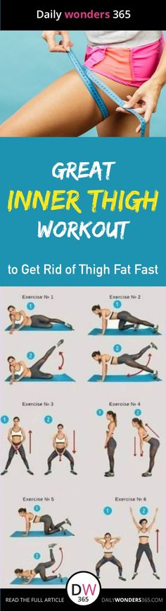 Inner thigh slimming workouts| Here are easy best inner thigh exercises to get rid of thigh fat and tone legs fast at home. #slimlegs #innerthighs