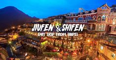 Charming old towns in Keelung, Jiufen (九份) and Shifen (十分) are popular spots to visit on a day trip from Taipei. Read to find out all the must-eat-see-do...