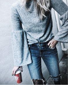 those sleeves & Starbucks liketk.it/2pEWy @liketoknow.it #liketkit #monday #ootd