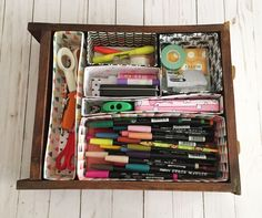 Cracker and cereal box drawer organizers. So easy and can be made for any size drawer. Video How To!