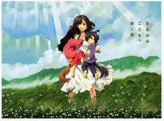 Hatsuki M.: Dica de Anime - Ookami Kodomo no Ame to Yuki