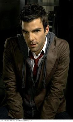 Zachary Quinto, you are beautiful and I love you