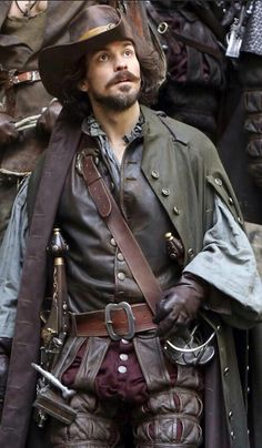 The Musketeers BBC; Aramis