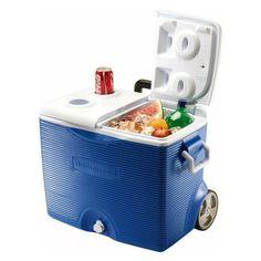 Rubbermaid 45 qt. Wheeled Cooler - 0824-4394
