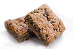 Gluten-free breakfast brownie bars with quinoa