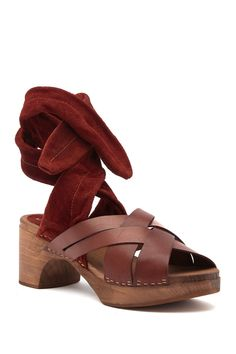 10114a37fae Emmy Wrap Clog by Free People on  HauteLook Clogs