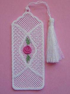 Freestanding Lace Bookmarks - Designs 4 Africa   OregonPatchWorks
