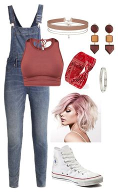 """Untitled #243"" by shababy0403 ❤ liked on Polyvore featuring Cheap Monday, Converse, Forever 21, Miss Selfridge, MANGO and Cartier"
