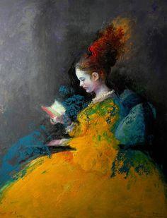 Dama en amarillo, BENITO CERNA