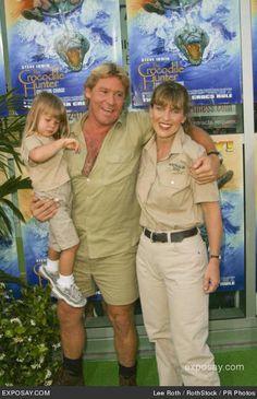 ♡♥Steve and Terri Irwin with daughter Bindi Sue Irwin♥♡