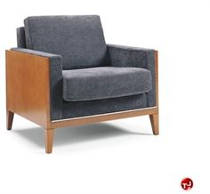 Picture of David Edward LSM Contemporary Reception Lounge 2 Seat Loveseat Sofa