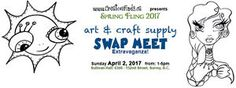 This may just be the BEST Art & Craft Swap Meet you have ever been to or been involved in! Craft Show Displays, Just Be, Meet You, Craft Supplies, Cool Art, Arts And Crafts, Good Things, Creative, Events