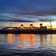 The Queen Mary in Long Beach, CA