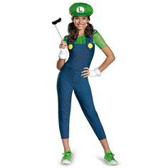 Super Mario Bros Halloween Costumes for Tweens #Luigi
