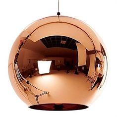 You need this Replica Tom Dixon Copper Shade Pendant Light - 35cm