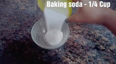 If you are looking for an all natural DIY recipe to clean your clogged drain, try this easy salt and vinegar drain cleaner! House Cleaning Checklist, Diy Home Cleaning, Homemade Cleaning Products, Household Cleaning Tips, Cleaning Recipes, Natural Cleaning Products, Cleaning Hacks, Cleaning Solutions, Natural Drain Cleaner
